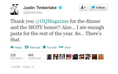 JTxGQxTWEET Justin Timberlake Follows K.Dot's Lead And Takes Cover #2 Of GQ's Men Of The Year Issue