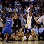 Game, Warriors: Andre Iguodala's Buzzer Beater Leads Golden State Pass OKC (Video)
