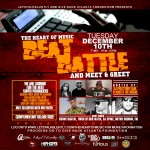 LetsTalkBluntly & Mogul Mentality Present: The Heart of Music Beat Battle In Atlanta (12-10-13)