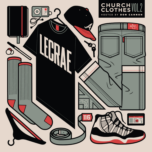 church-clothes Lecrae & DJ Don Cannon - Church Clothes Vol. 2 (Mixtape)