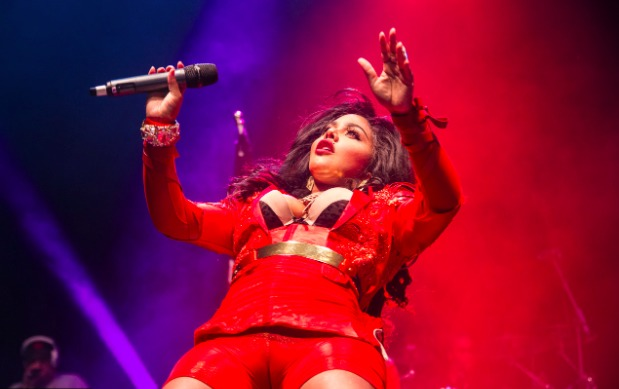 kim Lil Kim And Eve Perform At Musicalize In London