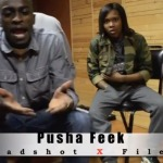 Pusha Feek, K. West & Leen Bean – Headshot X Files Freestyle (Video)