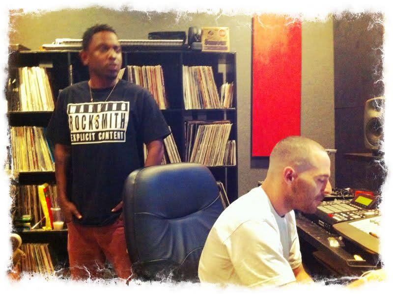 Bb8kiDDIMAAIoOM.jpg-large-2 Kendrick Lamar & Alchemist In The Studio