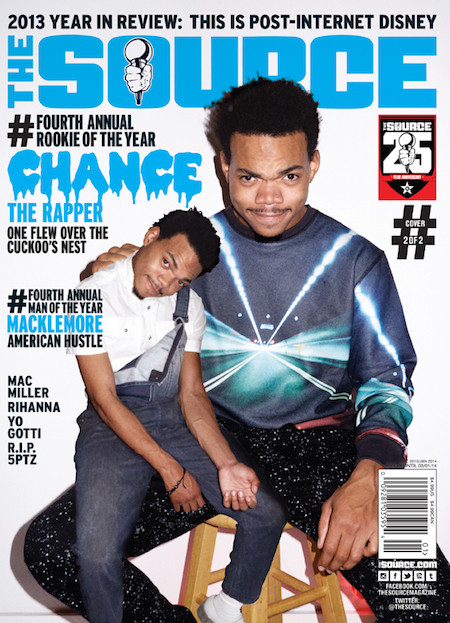 EgNVXZy Chance The Rapper Covers 2013 Year Ending Source Magazine Issue (Photo)