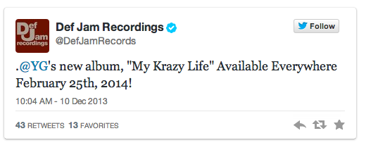 "Screen-shot-2013-12-10-at-11.12.56-AM YG ""My Krazy Life"" Album Release Date Announced"
