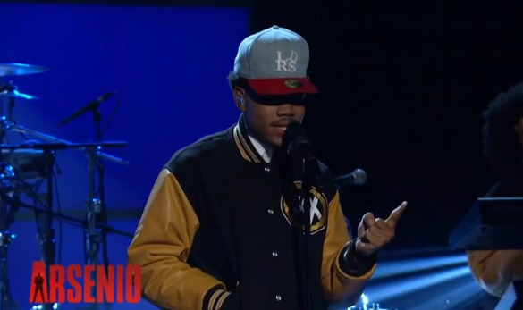 "Screen-shot-2013-12-21-at-10.02.20-AM Chance The Rapper Performs ""Chain Smoker"" on Arsenio Hall (Video)"