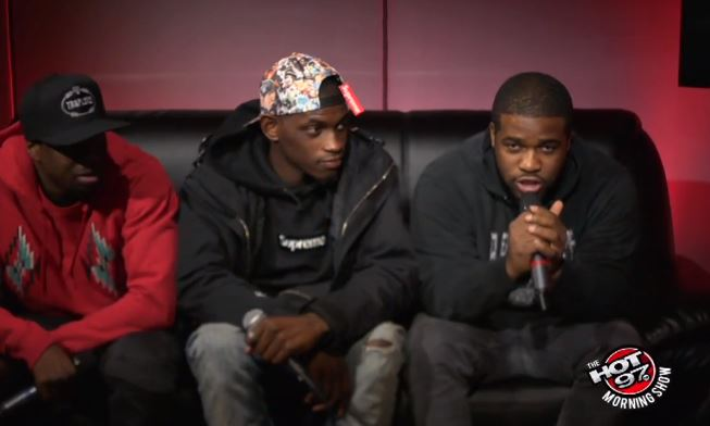 asaponhot97 A$AP Mob Talks Beef With Pro Era, Method Man Collaboration & More W/ Hot 97 (Video)