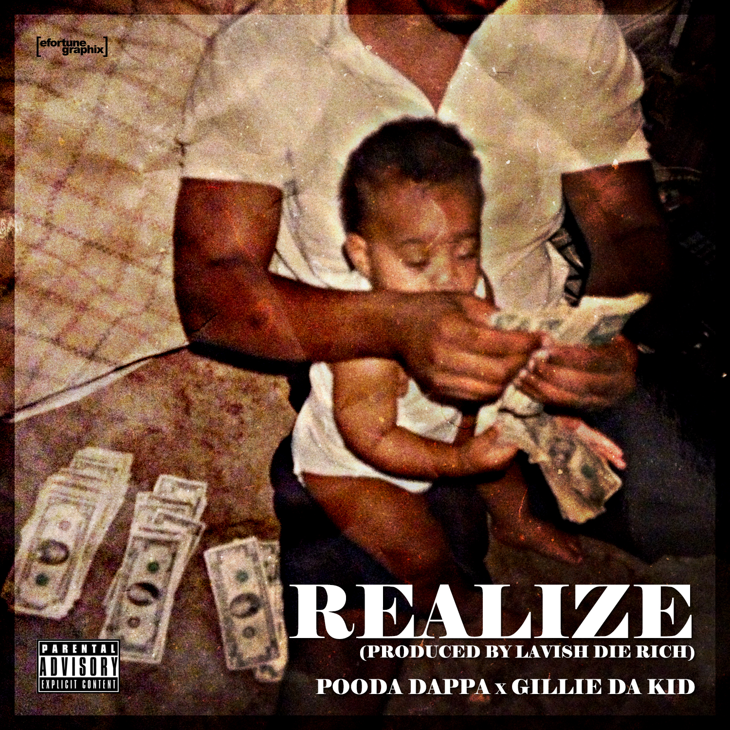 Pooda Dappa   Realize Ft. Gillie Da Kid (Prod by Lavish Die Rich)