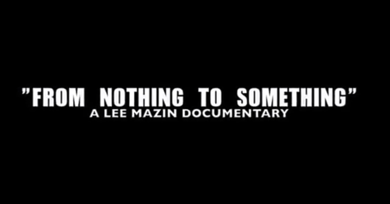 lee-mazin-from-nothing-2-something-documentary-trailer-HHS1987-2013 Lee Mazin - From Nothing 2 Something Documentary (Trailer)