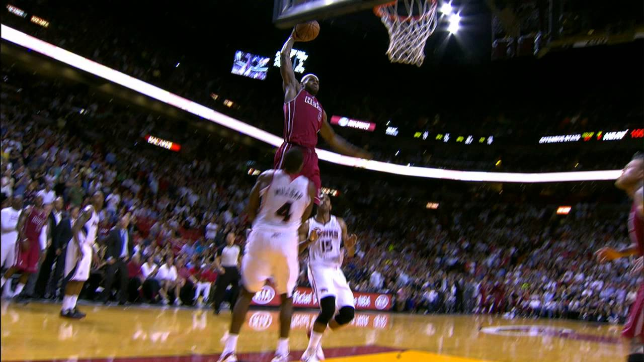 maxresdefault8 Lebron Takes Off on Atlanta Hawks Big Man Paul Milsap (Video)