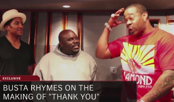 "relotvnewsbustwithoutyou Busta Rhymes Talks ""Thank You"" Collaboration With Q-Tip On Revolt TV (Video)"
