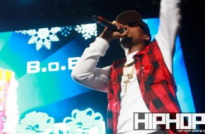 B.o.B Hits The Stage at the 4th Annual Street Execs Christmas Concert (Video)
