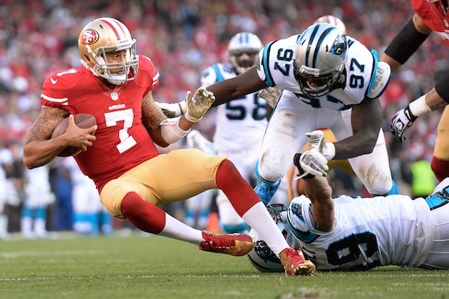 187608461 NFC Divisional Playoffs: San Francisco 49ers vs. Carolina Panthers (Predictions)