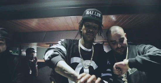 9Ze3Bwb Wiz Khalifa & Berner – Chapo (Video)