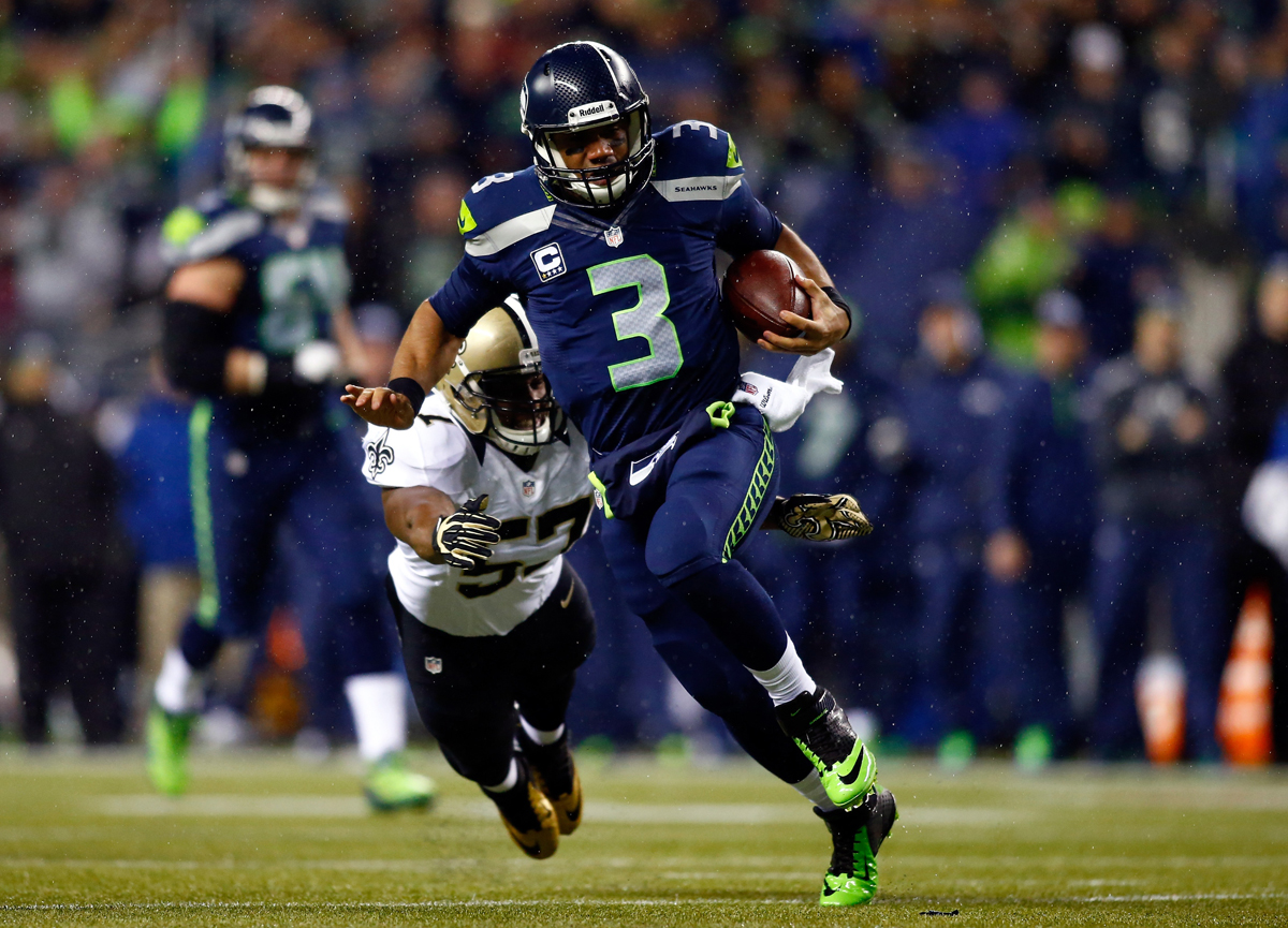 AFP_Getty-453183427 NFC Divisional Playoffs: New Orleans Saints vs. Seattle Seahawks (Predictions)