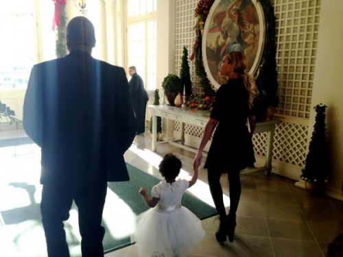 Beyonce & Blue Ivy At The White House