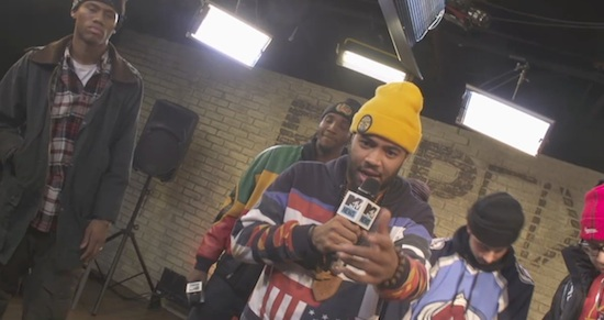 BnmF1BA Pro Era - MTV RapFix Freestyle (Video)