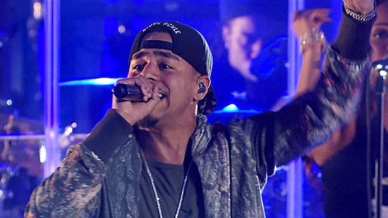 Dp0eUyG J. Cole Performs Live At VH1s Super Bowl Blitz (Video)