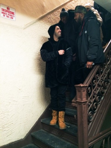 Drake_Wu_Tang_Forever_2-374x500 Drake & A$AP Rocky In Harlem For Wu-Tang Forever (Remix) Video Shoot
