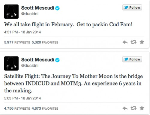 Kid Cudi's Tweets About His EP
