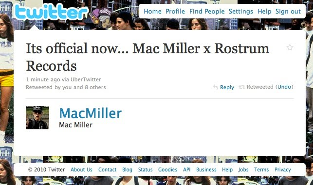 Mac-Miller-Record-Deal-TheMaskedGorilla.com_ Mac Miller Leaves Rostrum Records & Becomes A Free Agent