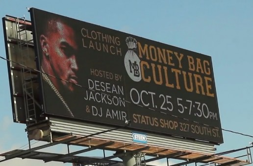Money Bag Culture Launch Hosted by Desean Jackson & DJ Amir (Video)