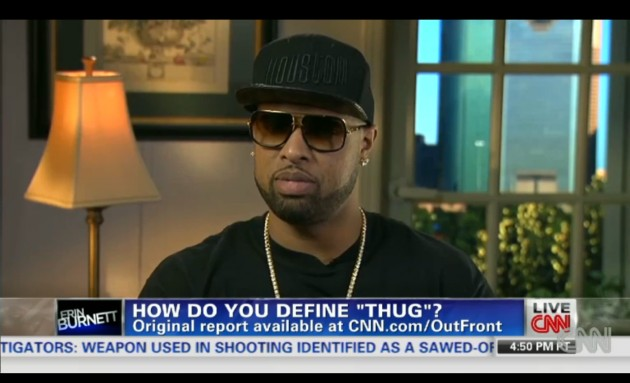 Screen shot 2014 01 16 at 8.31.57 AM 630x383 1 Slim Thug Defines Thug And Its Connotation To CNN (Video)