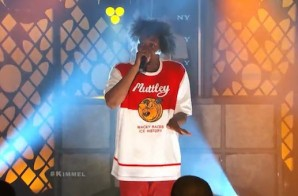 Danny Brown & Megan Jones – 25 Bucks (Live On Jimmy Kimmel) (Video)