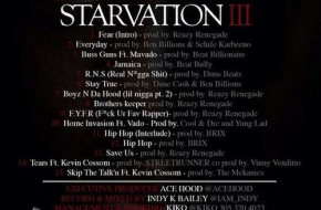 Ace Hood – Starvation III (Track List)