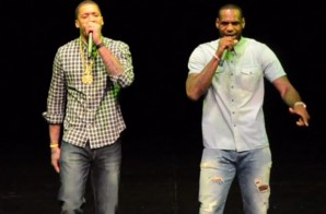 "Heatles World Tour: Lebron James & Michael Beasley Perform ""Back That A$$ Up"" at the Battioke Charity Event (Video)"