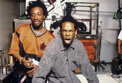 bustaODB Throwback: Busta Rhymes & ODB Cypher (Classic Rare Footage) (Video)
