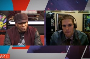 Virginia Emcee Cane Gets In The Game On MTV Rap Fix W/ Sway, Pro Era & DJ Ted Smooth (Video)