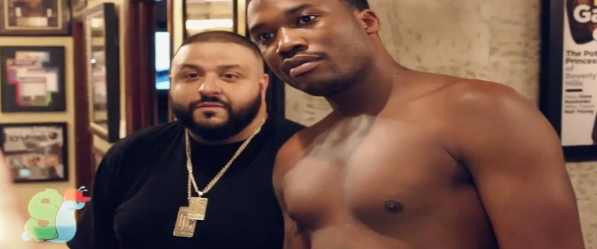 dj-khaled-meek-mill-bet-thousands-basketball-video-HHS1987-2014-1 DJ Khaled & Meek Mill Bet Thousands In Basketball (Video)
