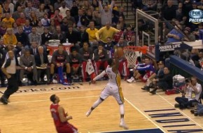 Paul George Does Vince Carter's 360 Windmill in Tonight's Game (Video)