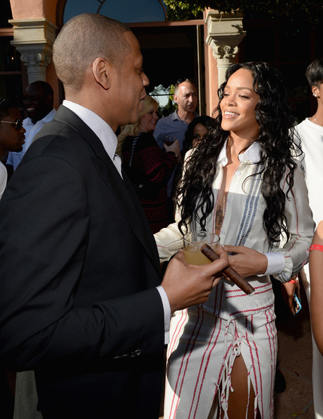 jay z rihanna meek mill j cole wale dj mustard more attend roc nations 2014 pre grammy brunch photos HHS1987 2014 3 Jay Z, Rihanna, Meek Mill, J. Cole, Wale, DJ Mustard & more Attend Roc Nations 2014 Pre Grammy Brunch (Photos)