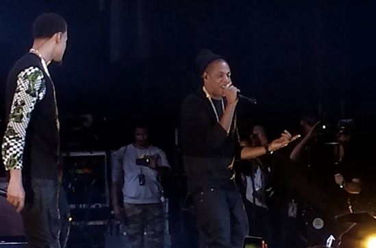 jayzjcolemsg J.Cole Brings Out Jay Z During His Show At Madison Square Garden (Video)