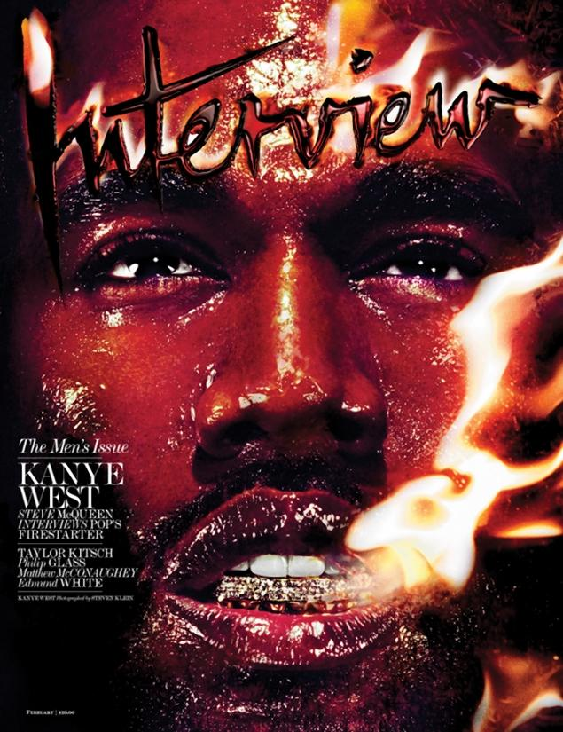 kanye-6 Kanye West Covers Interview Magazine (Photo)