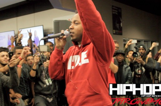 "Kendrick Lamar Performs ""Backseat Freestyle"" At Best Buy In NYC (Throwback Video) (Shot By Rick Dange)"