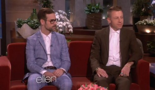 macklemore-ellen-500x290 Macklemore & Ryan Lewis On The Ellen Show (Video)