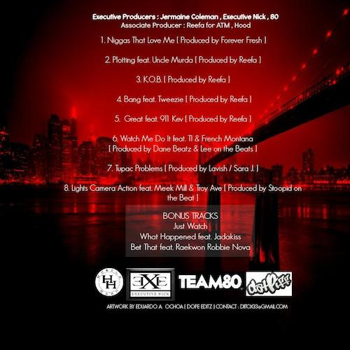 maino king of brooklyn ep cover tracklist HHS1987 2014 Maino – King Of Brooklyn EP (Cover + Tracklist)