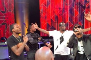 Diddy & Ma$e Open Revolt TV Hollywood Studio (Video)