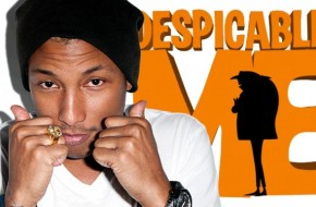 Pharrell Gets Oscar Nod For Despicable Me 2 Soundtrack Single