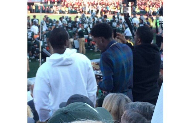richhomiequan1 1 Rich Homie Quan Joins Michigan State at the Rose Bowl (Photos)