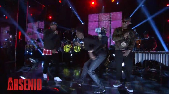 "YG, Young Jeezy, & Rich Homie Quan Perform ""My Nigga"" on Arsenio Hall (Video)"