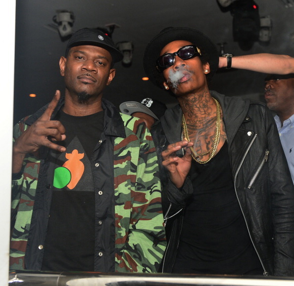 BET Hip Hop Awards 2012 - Chris Brown, Diddy, And Jeezy After Party