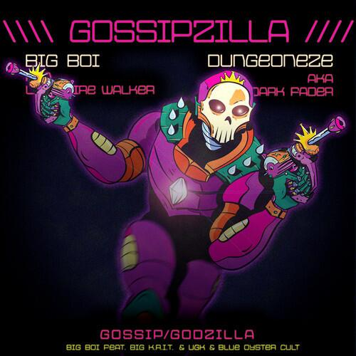 Big_Boi_GossipZilla Big Boi - GossipZilla Ft. Big K.R.I.T., UGK, & Blue Oyster Cult (Video)