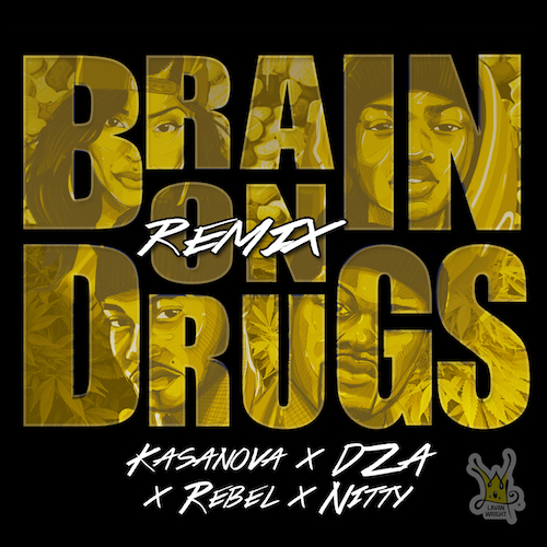 I80o3cX Kris Kasanova – Brain On Drugs (Remix) Ft. Smoke DZA, Ken Rebel & Nitty Scott MC