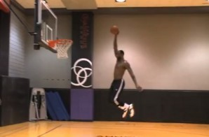 Lebron Performs Personal Slam Dunk Contest During Miami Heat Practice (Video)