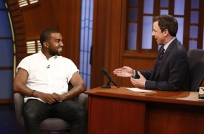 "Kanye West makes an Appearance On ""Late Night with Seth Meyers"" (Video)"