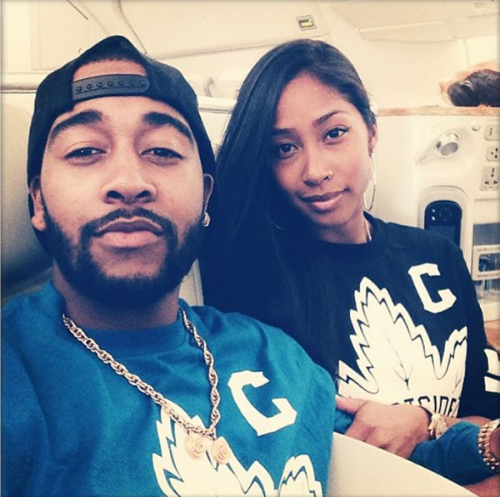 Omarion Apryl Jones Omarion And Apryl Jones Expecting First Child (Video)